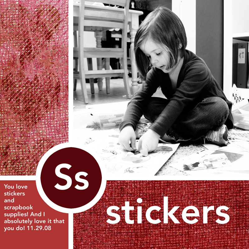 S-stickers