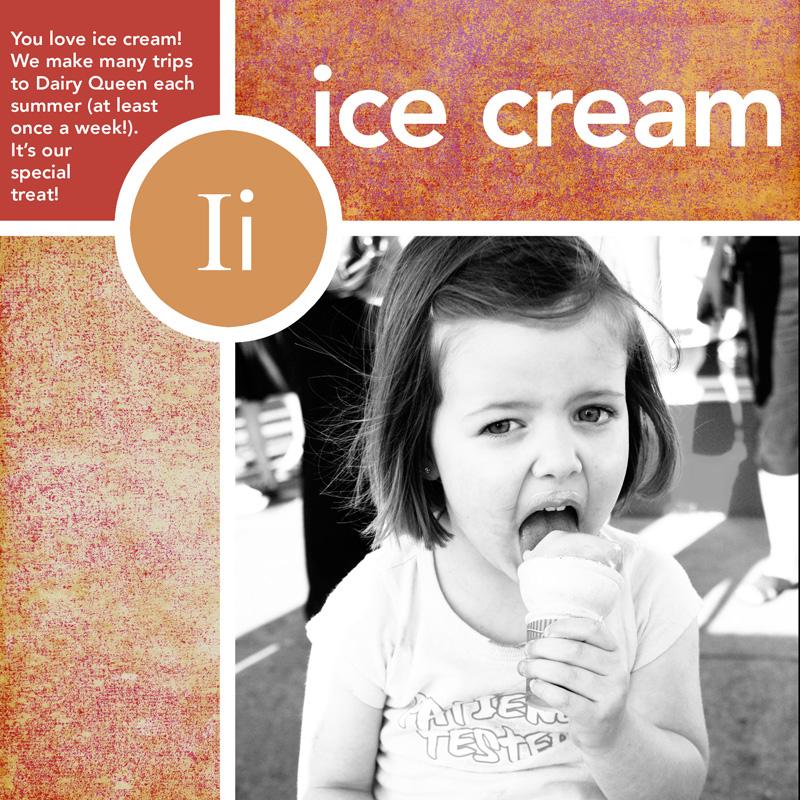 I-ice cream