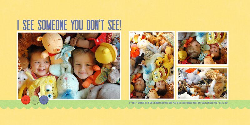 2007 12 16 Buried in stuffed animals